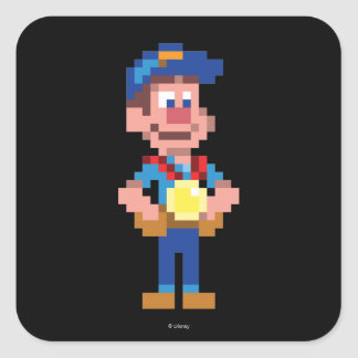 Fix-It Felix Jr: FLX Square Sticker
