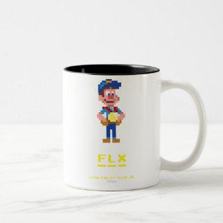 Fix-It Felix Jr: FLX Two-Tone Coffee Mug
