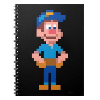Fix-It Felix Jr Spiral Notebook