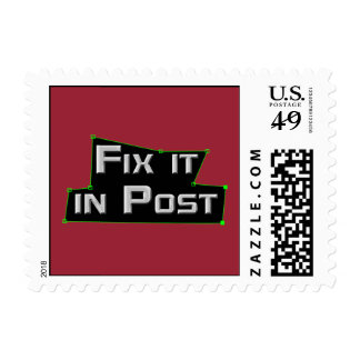 """""""Fix it in Post"""" VFX Stamps"""