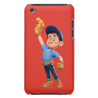 Fix-It Jr Holding Hammer in the Air Case-Mate iPod Touch Case