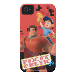 Fix-It Jr Holding Hammer in the Air iPhone 4 Case