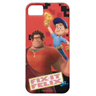 Fix-It Jr Holding Hammer in the Air iPhone SE/5/5s Case