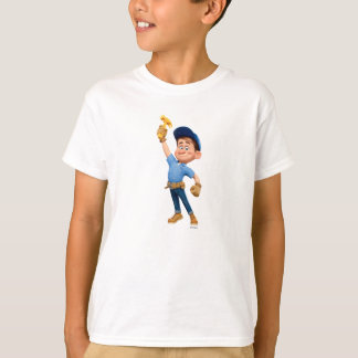 Fix-It Jr Holding Hammer in the Air T-Shirt