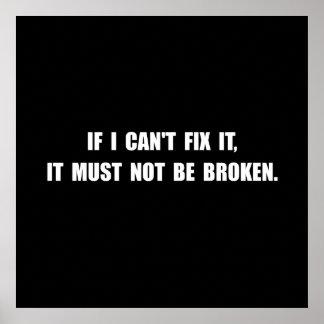 Fix It Not Broken Poster