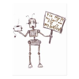 Fix Me? You Casn't Even Fix My Toaster! Postcard