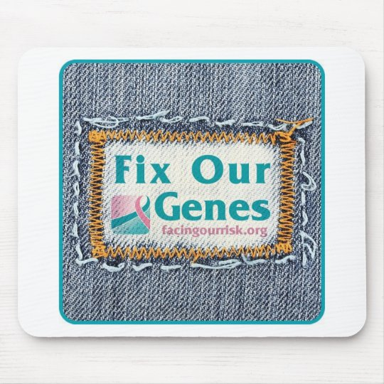 FIX OUR GENES MOUSE PAD