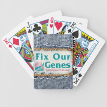 FIX OUR GENES playing cards