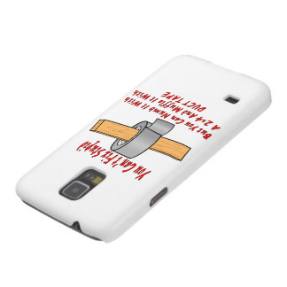 Fix Stupid With 2x4 & Duct Tape Case For Galaxy S5