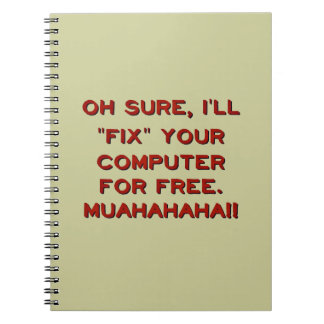 Fix Your Computer For Free? Note Book