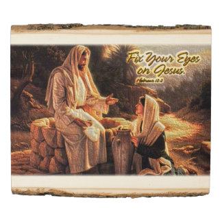 Fix Your Eyes on Jesus1 Wood Panel