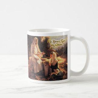 Fix Your Eyes on Jesus 1 Coffee Mug