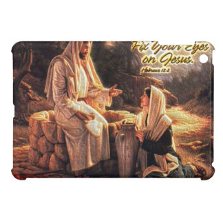 Fix Your Eyes on Jesus 1 iPad Mini Case