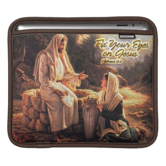 Fix Your Eyes on Jesus 1 iPad Sleeves