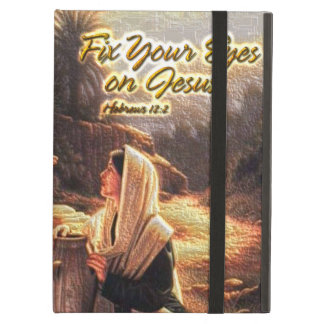 Fix Your Eyes on Jesus 1 Powiscase Cover For iPad Air