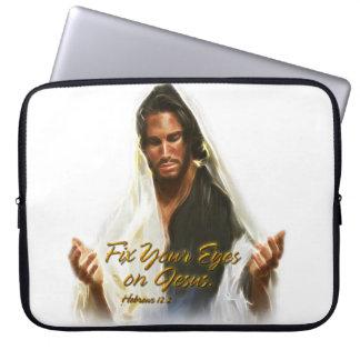 Fix Your Eyes on Jesus 2 Laptop Sleeve