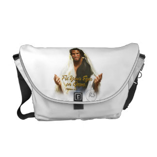 Fix Your Eyes on Jesus 2 Messenger Bag