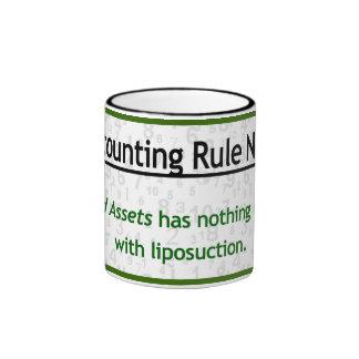 Fixed Assets and Liposuction Ringer Mug
