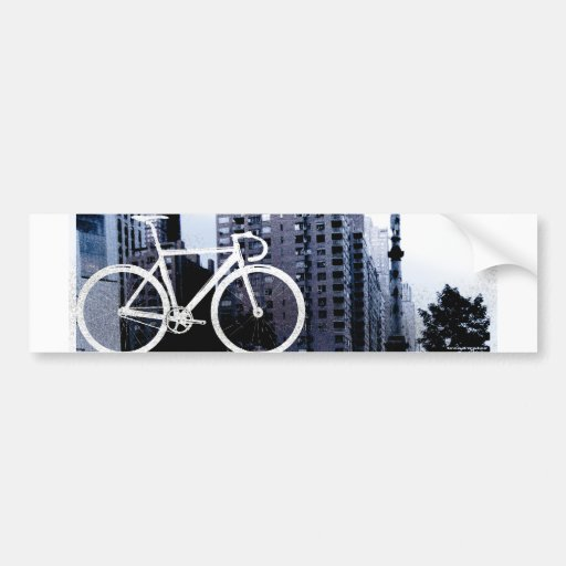 Fixed - Boston Blue Bumper Sticker
