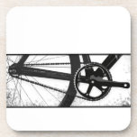 Fixed Gear Bicycle Drink Coasters