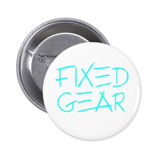 Fixed Gear Pinback Button