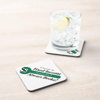 Fixed Income/Always Broke Coasters - Green