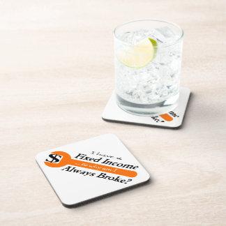 Fixed Income/Always Broke Coasters - Orange