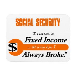 Fixed Income/Always Broke Magnet - Orange