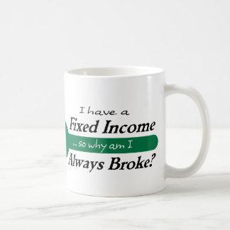 Fixed Income/Always Broke Mug - Green