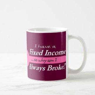 Fixed Income/Always Broke Mug - Mauve