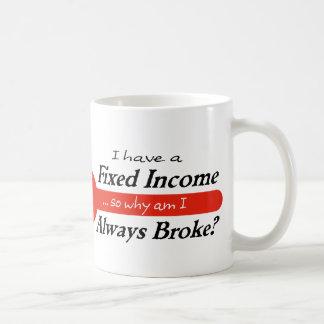 Fixed Income/Always Broke Mug - Red