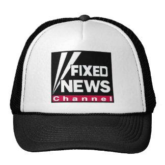 """Fixed News """"Classic"""" Hat - BLACK"""