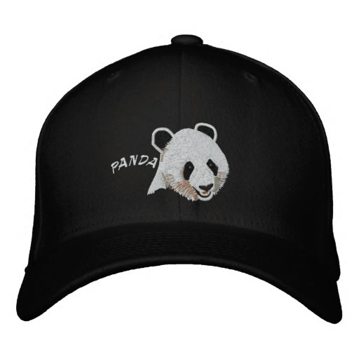 Fixed Panda Embroidered Baseball Hat
