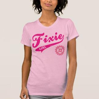Fixie Girl, Bike design pink Tshirt
