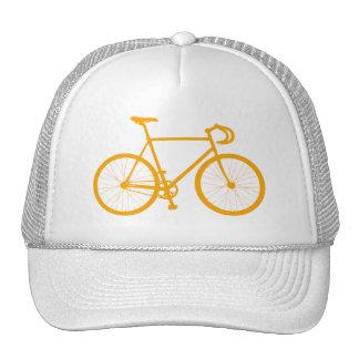Fixie (naranja) gorras de camionero