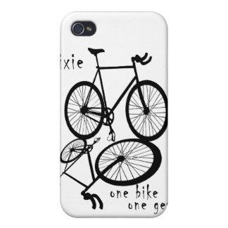 Fixie - one bike one gear iPhone Case