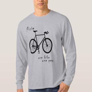 Fixie - one bike one gear (simple) T-Shirt