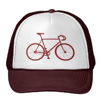 Fixie (rojo) gorra
