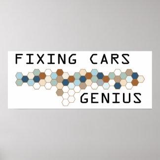 Fixing Cars Genius Poster