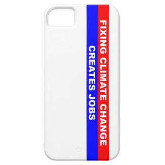 Fixing Climate Change Creates Jobs iPhone 5 Cases