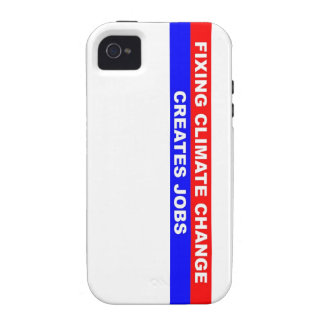 Fixing Climate Change Creates Jobs Case-Mate iPhone 4 Covers