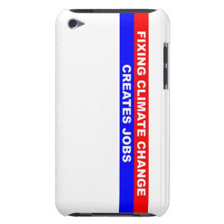 Fixing Climate Change Creates Jobs Barely There iPod Case