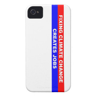 Fixing Climate Change Creates Jobs Case-Mate iPhone 4 Case