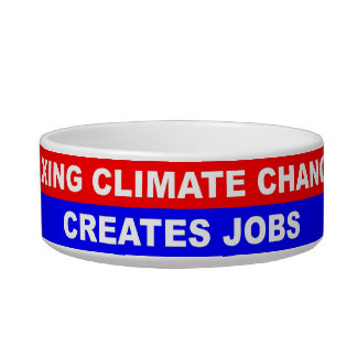 Fixing Climate Change Creates Jobs Cat Bowl