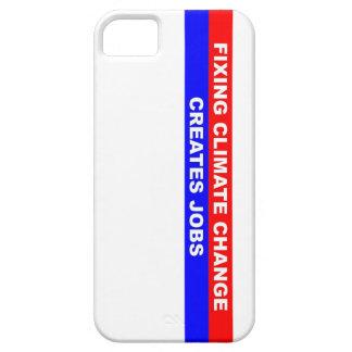 Fixing Climate Change Creates Jobs iPhone SE/5/5s Case