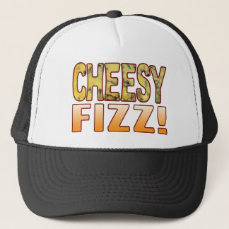Fizz Blue Cheesy Trucker Hat