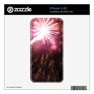 Fizzle and Flash iPhone 4 Decals