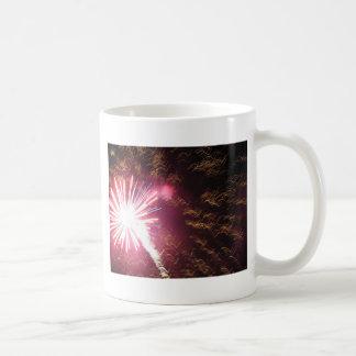 Fizzle y flash taza de café
