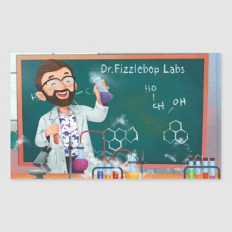 Fizzlebop Labs Stickers