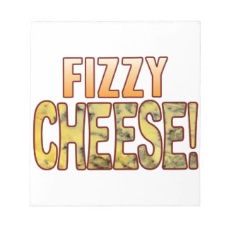 Fizzy Blue Cheese Notepad